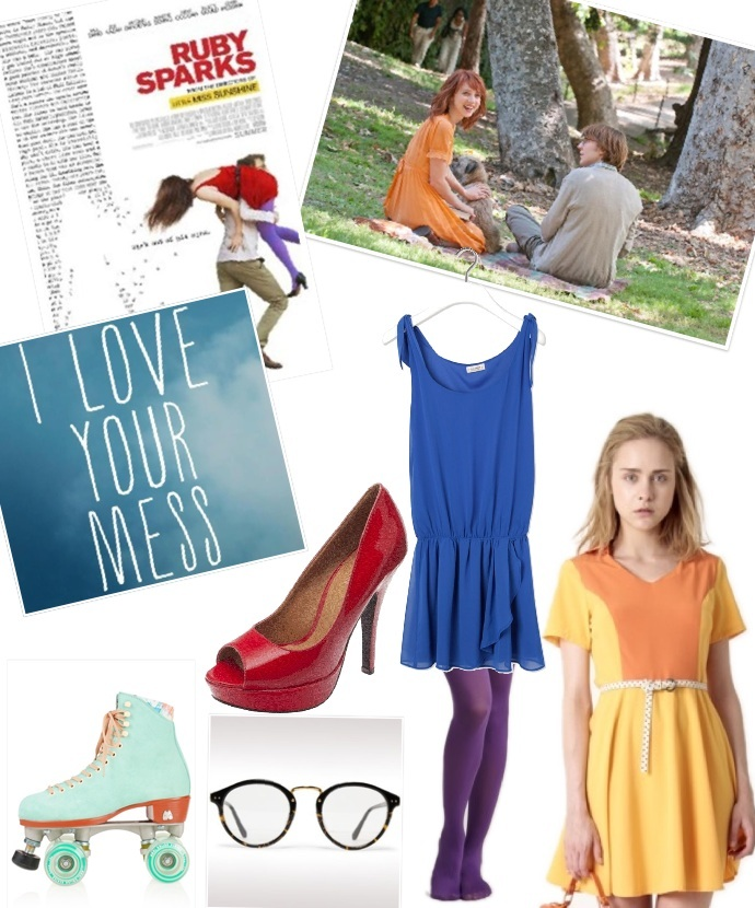 Ruby Sparks inspired outfit.