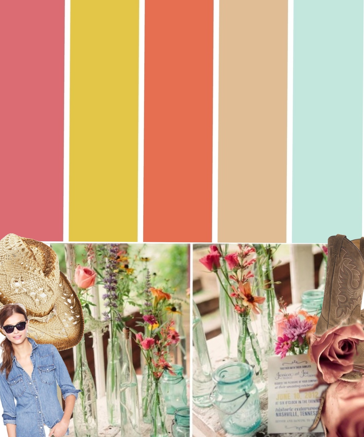 Country color palette