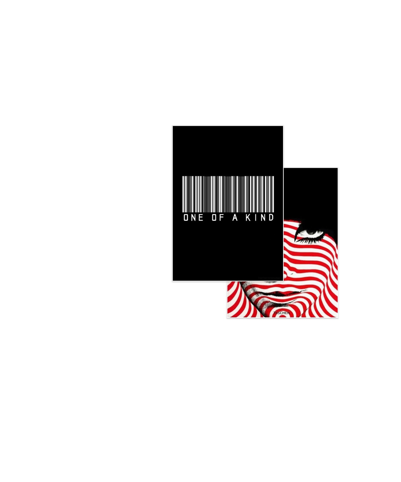 Barcode over