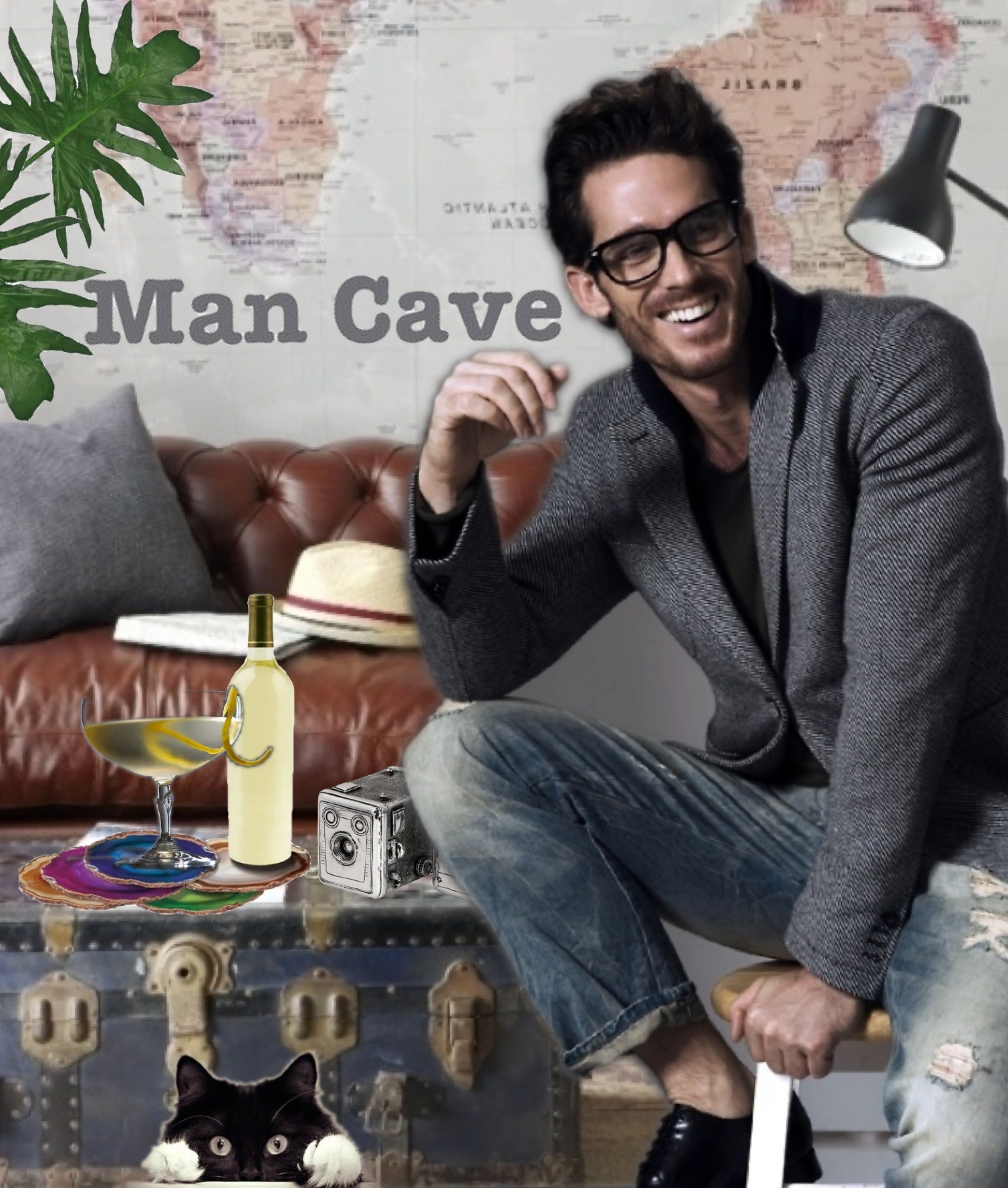 Man Cave East Delray : Man cave made with bazaart