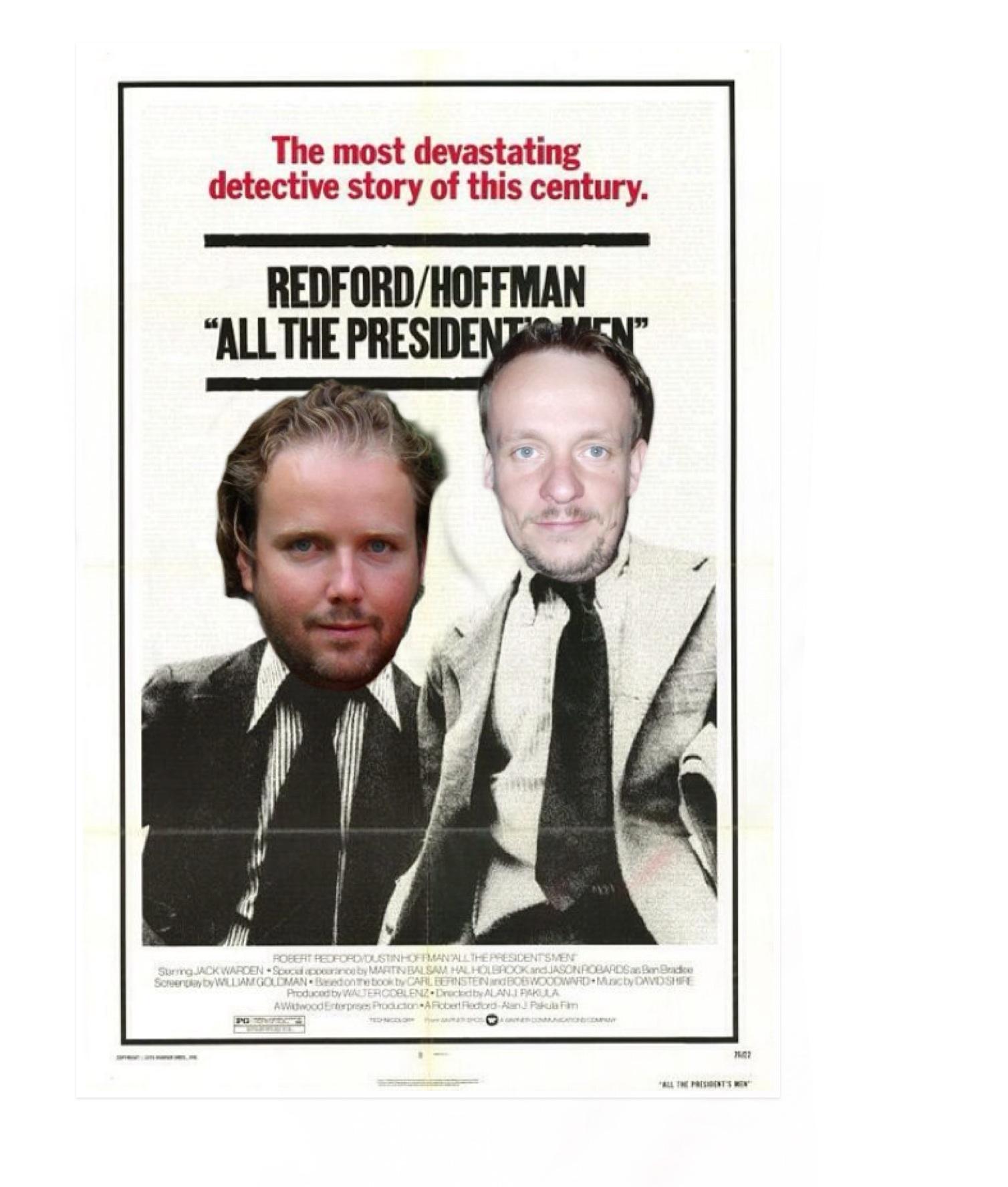 Wat als journalisten Jef Van Nooten en Toon Verheijen met burgemeester Brentjens doen wat ze eerder al eens met Richard Nixon deden?